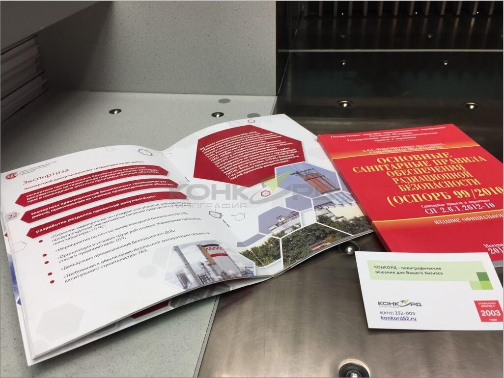 Нижний Новгород, печать каталога продукции.